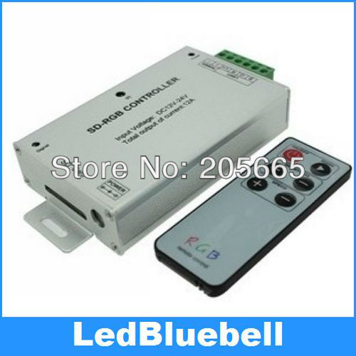 IR SD card RGB controller DC12~24V Input(China (Mainland))