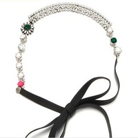 Min.order is $10(Mix order) Free shipping 2013 Fashion Women Hair Accessories Crystal Bride Hairbands Wedding Glitter Headbands