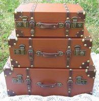 Vintage vintage suitcase clothes suitcase travel