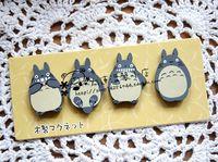 Wool refrigerator stickers magnet magnets blackboard stickers totoro 4
