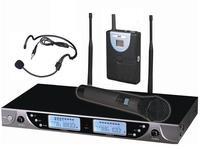 New UHF Wireless Handheld MIC and Headset Headworn Microphone System