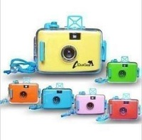 Waterproof lomo camera easy film waterproof camera multi-colored camera