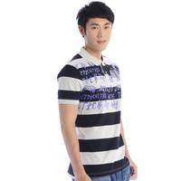 Summer phil men's clothing cotton print short-sleeve T-shirt