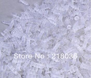 Free Shipping  Wholesale 1000 PCS Fashions Base 3.5 Headphone  Plug 6MM Flat Base Plastic Dust Plug DIY Making Jewelry   M2355