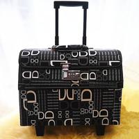 Trolley tools suitcase tool box fashion travel bag