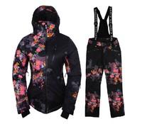 2013 fashion new women ski suit best winter brand skiing snowboarding quality set  free shipping