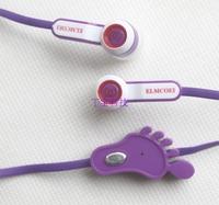 Us el6300 earphones mobile phone earphones feet earphones