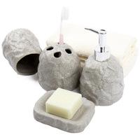 For dec  otalk bathroom supplies bathroom four piece set fashion gift kit ceramic stone pattern