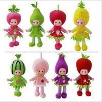 Hotsale Russian  fashion educational toys,speaking, music doll,lovely fruit speaking educational  dolls,best gift for children