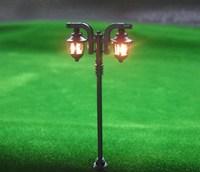 LFT25 Model Railway Lamppost Lamps Street Lights HO Scale 6.5cm 6V New