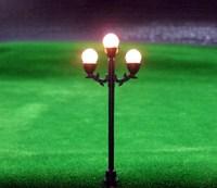 LFT04 Model Railway Lamppost Lamps Street Lights HO Scale 6.5cm 6V New