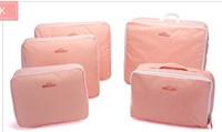 Travel storage bag set large capacity clothing order bags storage bag waterproof storage five pieces set