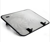 Ultra-slim 2 Fans USB Notebook Cooler Laptop Cooling Pad For Notebook Laptop Ultrabook, 450g Only