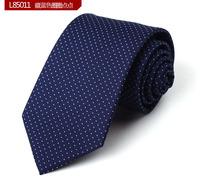 Quality nano-tie male formal commercial marriage tie dark blue