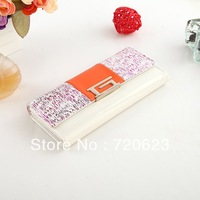 Free Ship 2013 Hot Shinning Cute Money Clips Change Bag Women's Purse Handbag Wallet