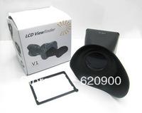 """100% GUARANTEE  Camera new V5 LCD Viewfinder 2.8x 3"""" Magnifier Eyecup Hood for Nikon 1"""