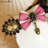 Clearance Original beauty head bow top clip headdress loving hairpin hairpin Korean version of the retro trinkets fe
