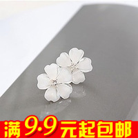 20pairs/lot E2106 stud earring queer accessories star flower stud love earring
