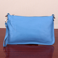 2013 clutch women's handbag fashion one shoulder cross-body bag small genuine leather bag day clutch cosmetic bag