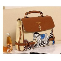 2013 spring autumn bag shoulder bag messenger bag handbag women's girls school bag Free Shipping