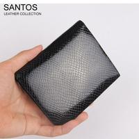 Santos Free Shipping + Snake Pattern Wallet + Men Executive Wallet + Compact Wallet SAQBS042-H