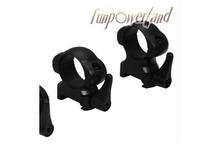 Funpowerland Weaver 30MM Medium Profile Black Quick Detach Mount Rings
