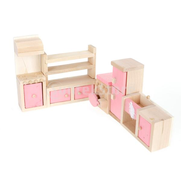 Popular Wooden Dollhouse Furniture Sets Buy Popular Wooden
