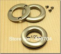 Free Shipping  1/2 inch  Nickel  Alloying Grommet Eyelet 50pcs