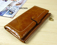 6173! New arrival hotsale genuine leather purses,cow leather wallets,ladies fashion wallet
