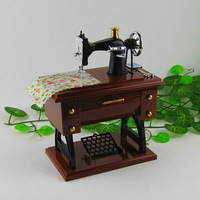 Good Sewing machine vintage music box music box gifts birthday gift at home to send mom