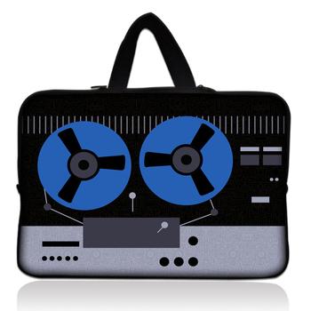 "Cassette 15"" 15.4"" 15.5"" 15.6"" Laptop Carrying Bag Sleeve Case Cover Holder+Hide Handle For HP Dell Acer"