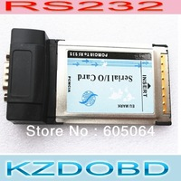 RS232 DB9 Serial I/O Port to PCMCIA  Notebook Card for mb star c3 PCMCIA To RS232