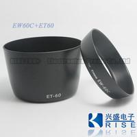 100% GUARANTEE New Camera EW-60C + ET-60 Lens Hood Set for CANON EF 18-55mm & 55-250mm