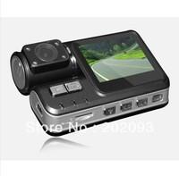 Free Shipping i1000 Car DV Single Lens Dashboard Car Vehicle Camera HD 720P Video Recorder DVR CAR G-sensor