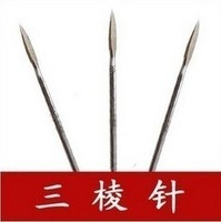 Large MITSUBISHI needle trigonous needle acupuncture needle acne  10 pieces health care