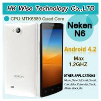 Neken N6 1G RAM 16G ROM Android 4.2 MTK6589 Quad Core Mobile Phone