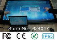 free shipping 42 Inch IR Touch Frame Panel, 16:9 fromat , Dust and water proofing No light spots