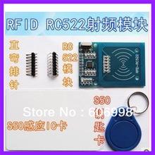 5pcs lot RFID RC522 module Kits S50 13 56 Mhz 424kbit s Write Read for arduino