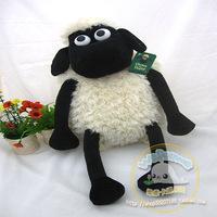 Shaun the sheep lamb child plush cartoon double-shoulder school bag back baby soft toys free shipping