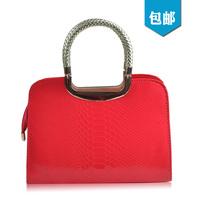 Hot-selling 2013 red bags fashion crocodile pattern women's bridal bag handbag shoulder bag