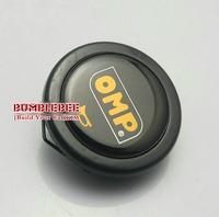 Free Shipping!!OMP Steering Wheel Hubs Car horn button  black (A,horn button * 1) ,ZZ125