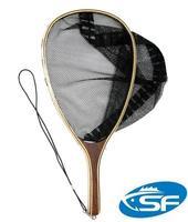 Fly Fishing Landing Net Trout Net With Bottom Ruler Streamside Stream Gear