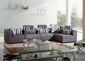 optional sectional modern sectional sofa european style furniture fabric Sofa living room sofas