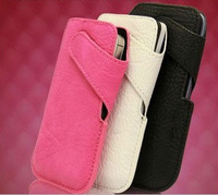 free shipping Leather Phone Pouch Bags Cases for Iphone4G 4S Cover phone bags cases accessories bag for cell phone