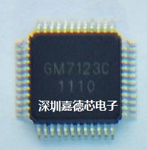 Free shipping Ic decode chip gm7123c gm7123 qfp48 gm original New and original stock on hand(China (Mainland))