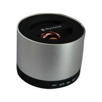 New Silver My Vision 3W Portable Mini Bluetooth Speaker For Smart Phones PC Laptops