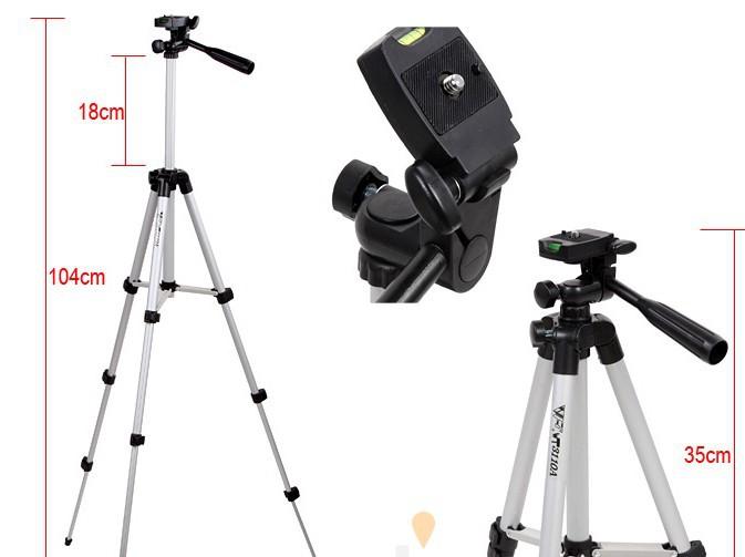 Lightweight Digital Camera Tripod for Nikon Canon Fuji Sony Kodak Olympus WT-3110A(China (Mainland))