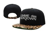 Free shipping Free shipping Cap leopard print commedesfuckdown snapback adjust cap bboy hiphop hip-hop cap
