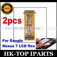 2pcs New Replacement LCD Screen Flex Ribbon Cable Flat for ASUS GOOGLE NEXUS 7 YL5051