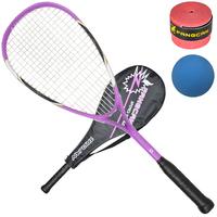 Fangcan squash rackets entry level set carbon compound